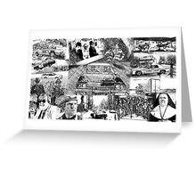 The Blues Brothers Collage Greeting Card