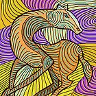 Abstract Horse  by myimpression
