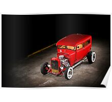Rick Conway's 1928 Ford Hotrod Poster