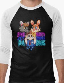 Five Nights At Furry's Men's Baseball ¾ T-Shirt