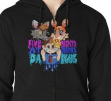Five Nights At Furry's Zipped Hoodie