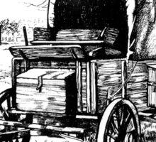 Chuck Wagon on the Johnson Settlement Sticker