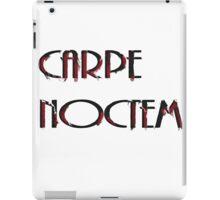 Capre Noctem  iPad Case/Skin