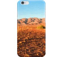 Outback Fence (GO6) iPhone Case/Skin