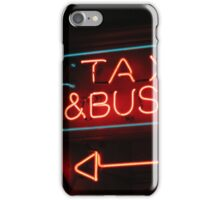 taxis & buses iPhone Case/Skin