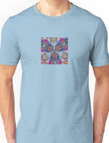The Rule of Thirds Abstract Kaleidoscope Pattern Unisex T-Shirt