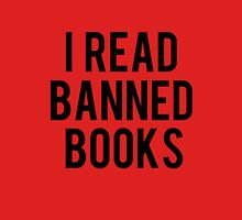 I Read Banned Books - Red Unisex T-Shirt