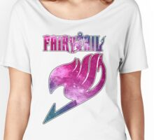 Fairy Tail - Pink Galaxy Logo Women's Relaxed Fit T-Shirt