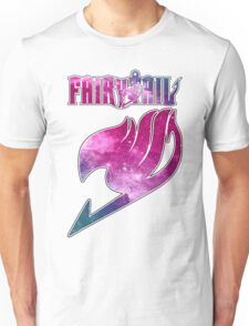 Fairy Tail - Pink Galaxy Logo Unisex T-Shirt