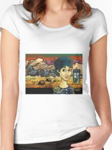 Unearthly Child Women's Fitted Scoop T-Shirt