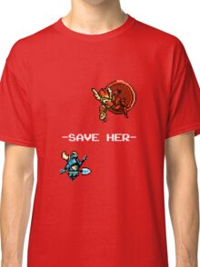 Save Her (for Dark Backgrounds) Classic T-Shirt