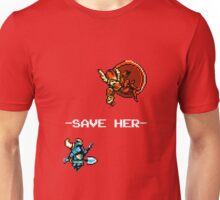 Save Her (for Dark Backgrounds) Unisex T-Shirt