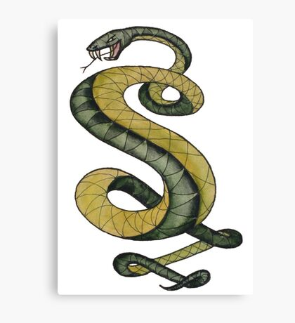 Tunnel Snakes Rule! Canvas Print