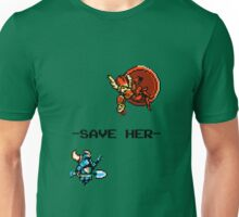 Save Her (for Light Backgrounds) Unisex T-Shirt