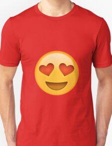 heart eyed emoji T-Shirt