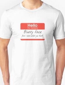 Twenty One Blurryface Pilots T-Shirt