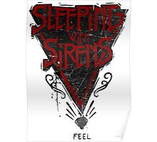 Sleeping with sirens tiangle Poster