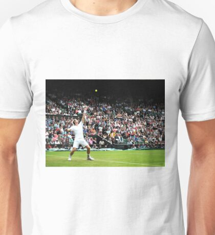 Andy Murray @ Wimbledon Unisex T-Shirt