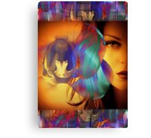 6572_2nd Orchid Goddess  Canvas Print
