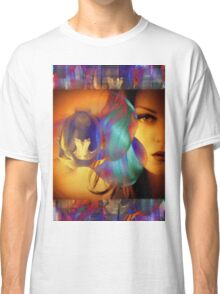 6572_2nd Orchid Goddess  Classic T-Shirt