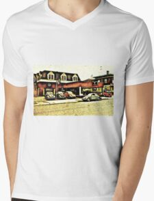 VW Garage Mens V-Neck T-Shirt