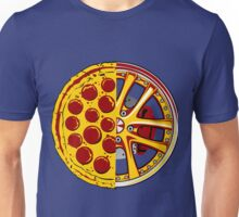 Pizza Wheels Unisex T-Shirt