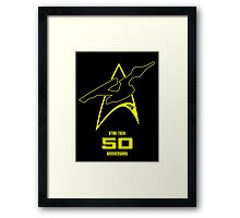 Star Trek 50th Anniversary Framed Print
