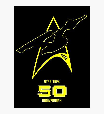 Star Trek 50th Anniversary Photographic Print