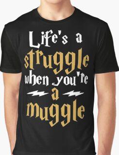 Muggle Struggle Potter Graphic T-Shirt
