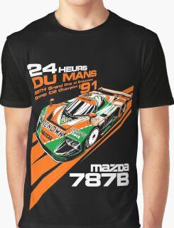 DU Mans Mazda 787B Graphic T-Shirt