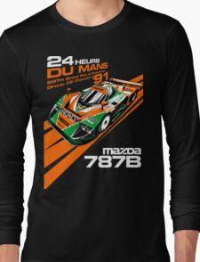 DU Mans Mazda 787B Long Sleeve T-Shirt