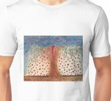Heart Break Tree Where Hearts Fly Free Unisex T-Shirt