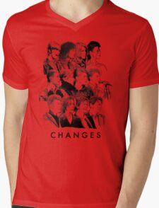 Changes Mens V-Neck T-Shirt