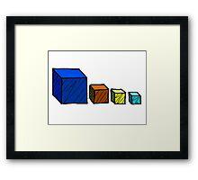 Realm of the Mad God - Cube God Cubes Framed Print