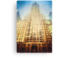 Reflective Empire (GO) Canvas Print