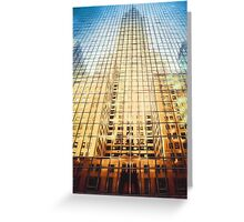 Reflective Empire (GO) Greeting Card