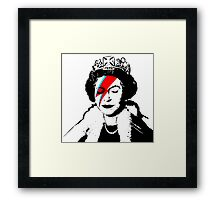 Ziggy Stardust Queen (David Bowie) Framed Print