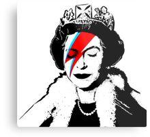 Ziggy Stardust Queen (David Bowie) Metal Print