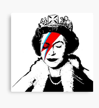 Ziggy Stardust Queen (David Bowie) Canvas Print