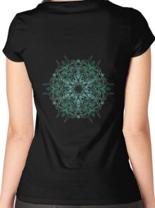 Cactus Inferno Women's Fitted Scoop T-Shirt