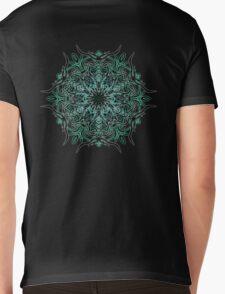 Cactus Inferno Mens V-Neck T-Shirt