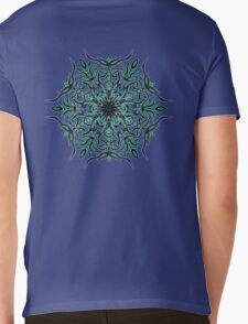 Cactus Inferno Mens V-Neck T-Shirt