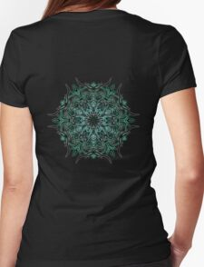 Cactus Inferno Womens Fitted T-Shirt