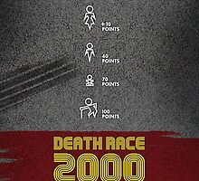Death Race 2000 - Movie Poster by 547Design