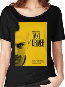 Taxi Driver - Movie Poster Women's Relaxed Fit T-Shirt