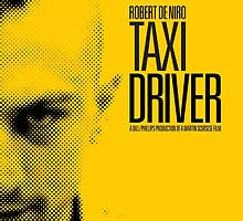 Taxi Driver - Movie Poster by 547Design