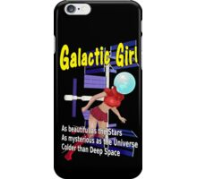 Galactic Girl iPhone Case/Skin