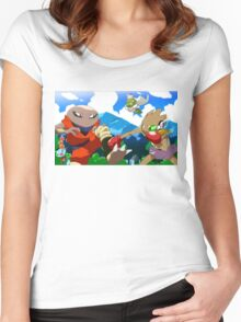 Pokeball Z Women's Fitted Scoop T-Shirt
