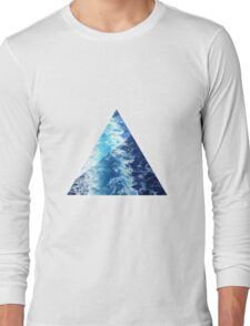 Sea  Triangle Long Sleeve T-Shirt