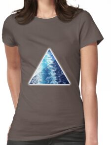 Sea  Triangle Womens Fitted T-Shirt